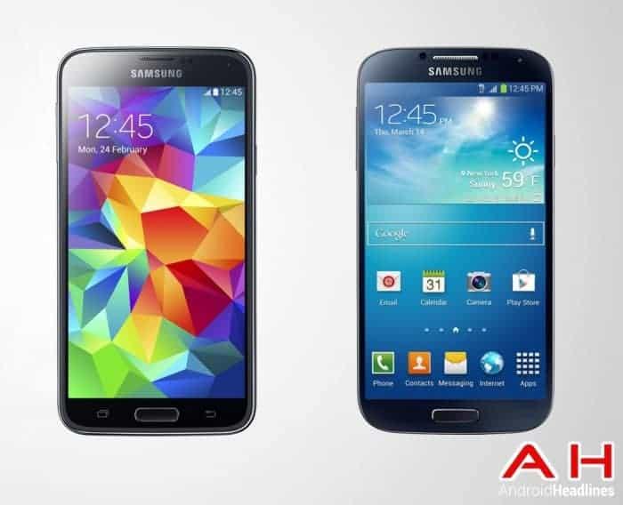 Samsung-Galaxy-S5-Vs-Samsung-Galaxy-S4