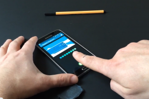 Galaxy S 5 Finger Scanner Can Easily Be Spoofed…Using Wood Glue