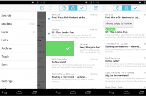 Dropbox Announces Mailbox for iOS and Android; Desktop gets Limited Beta