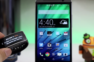 Samsung's Gear Fit Will Work With the HTC One M7 and M8 By Sideloading Apps