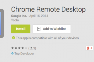 Google Releases Chrome Remote Desktop for Remoting into your Desktop from your Android Device