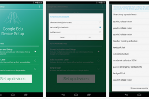 Google Edu Device Setup Updates with Support for Android 4.4.3?