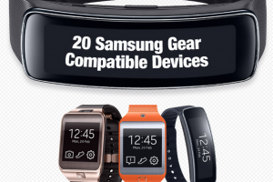 Samsung's Gear 2, Gear 2 Neo and Gear Fit Compatible With 20 Galaxy Phones and Tablets