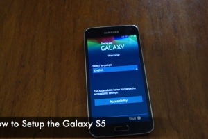 Android How to: Setup your Brand new Samsung Galaxy S5