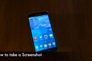Android How to: Take a Screenshot on the Samsung Galaxy S5
