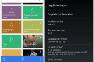 Redesigned Dialer for Android 4.4.3 Leaks Out
