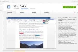 Office Online Comes To Chrome Through The Web Store