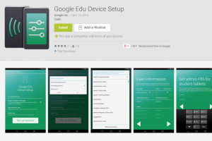 Google Edu Device Setup App Receives Android 4.4.3 Support
