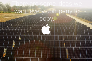 Apple Takes Shots At Samsung In Earth Day Print Ad
