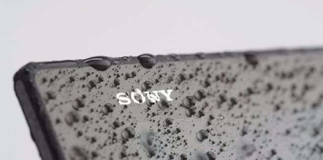 Sony Xperia Z2 Tablet water