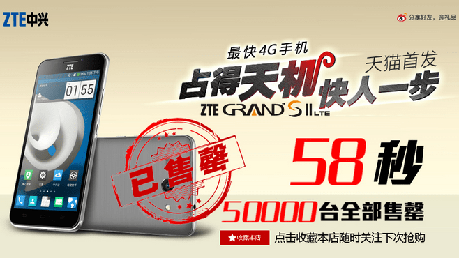 ZTE-Grand-S-II-sold-out
