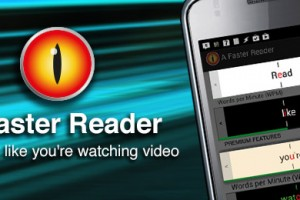 Sponsored App Review: A Faster Reader