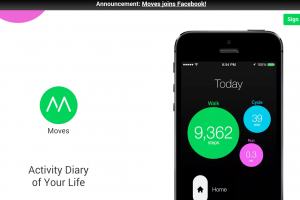 Facebook Tracks and Acquires The Moves Activity App