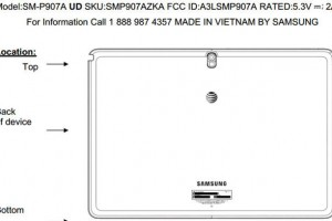 AT&T's Samsung Galaxy Note Pro Passes Through FCC