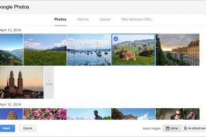 Pictures in Auto-Backup on Google+ Can be Attached in Gmail Now