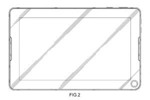 Samsung Taking a Leaf out of Nook's Book? Recent Patent Reveals Tablet with a Hole
