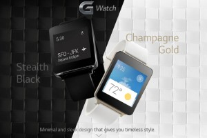 LG's G Watch is to Be Water and Dustproof; to Come in 'Champagne Gold' Color