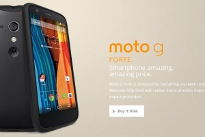 Moto G Forte Announced, A More Durable Moto G
