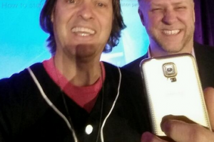 Samsung and HTC Competing for John Legere's Heart; Given a Gold Galaxy S5