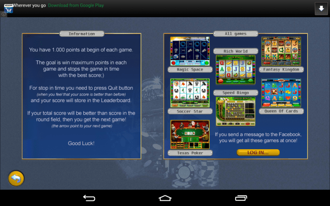 hd casino games