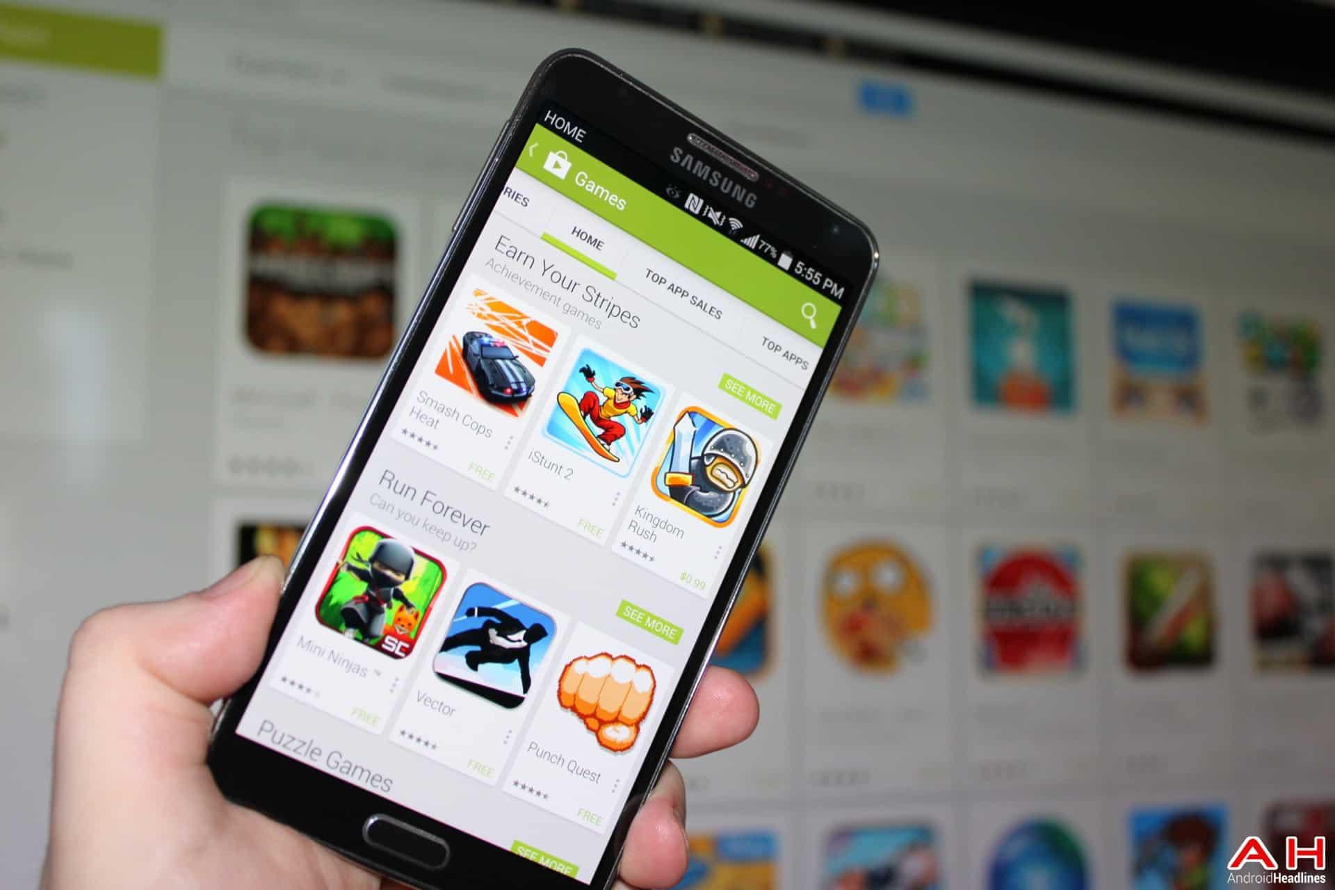 AH Google Play App Store Jeu de la semaine Top 10 des jeux Android 1.1