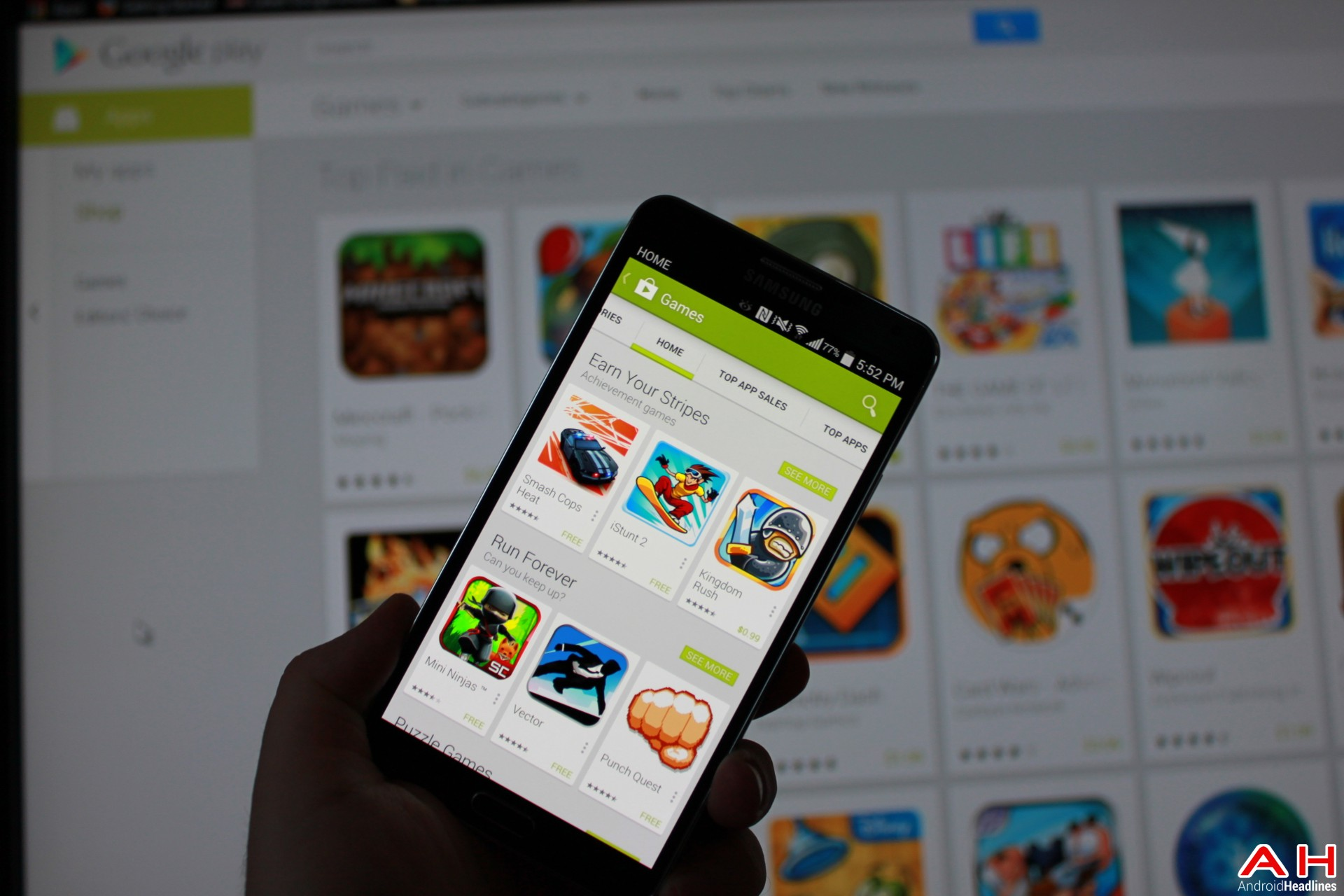 AH Google Play App Store Game of the week top 10 games android 1.3