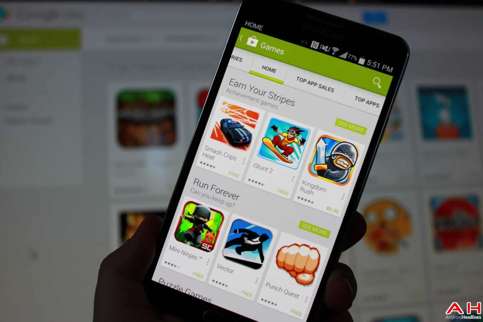 AH Google Play App Store Game of the week top 10 games android 1.4