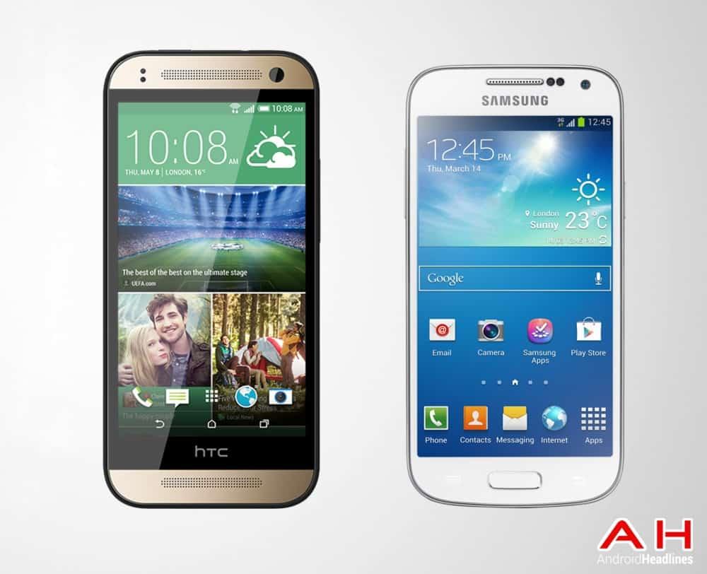 AH HTC One MINI 2 vs Galaxy S4 Mini