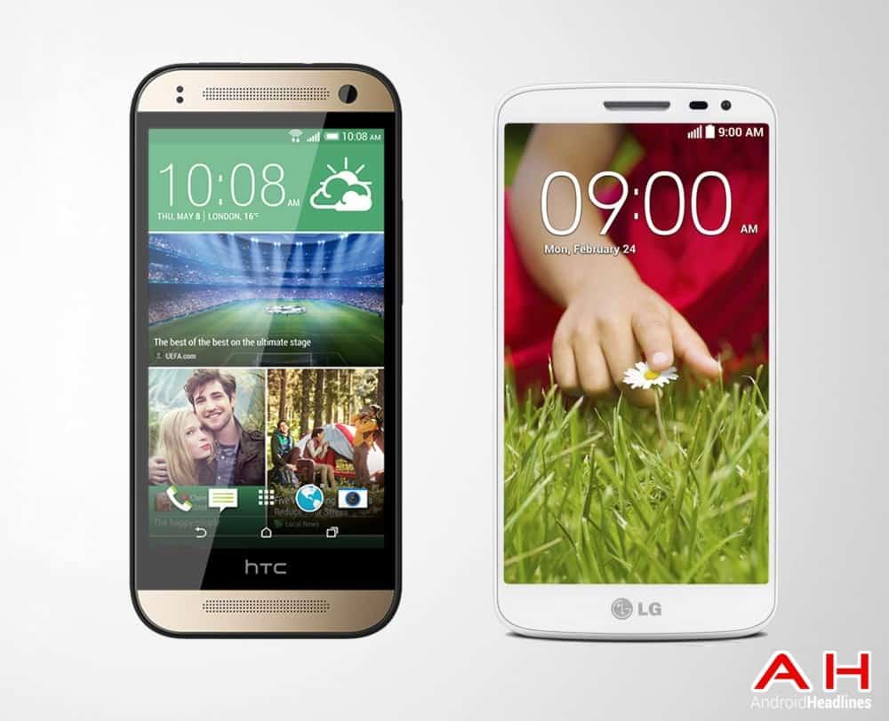 AH HTC One MINI 2 vs LG G2 Mini
