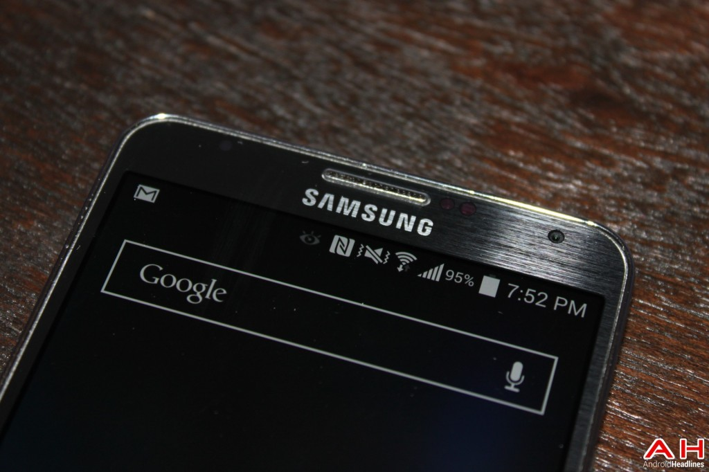 AH Samsung Galaxy Note Note 3 Logo