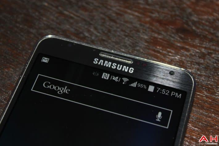 Galaxy Note 4 Possibly Hinted by Samsung to Have Retina Scanner