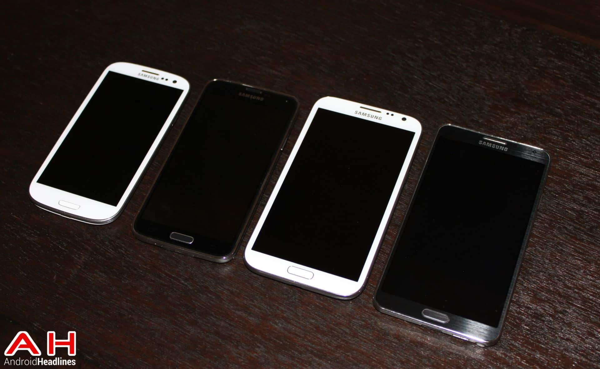 AH Samsung Galaxy S5 Galxy Note 3 Galxy Note 2 Galaxy S3  Logo 2.3