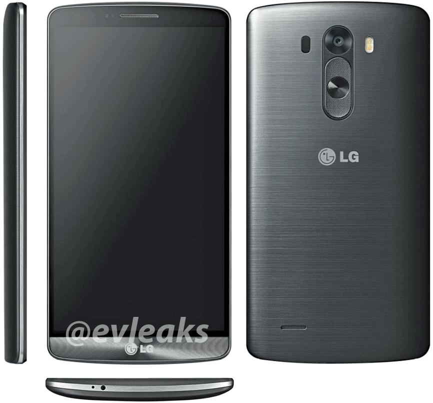 LG G3 Angles