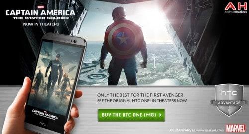 Captain America HTC One M8 AH