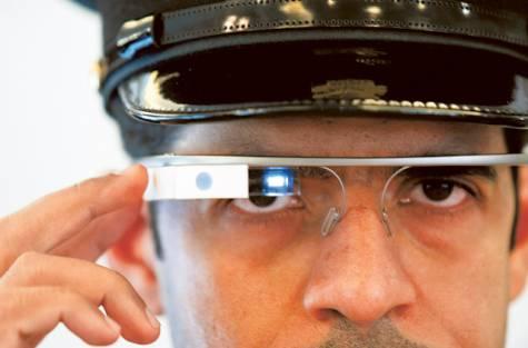 Dubai Police Glass