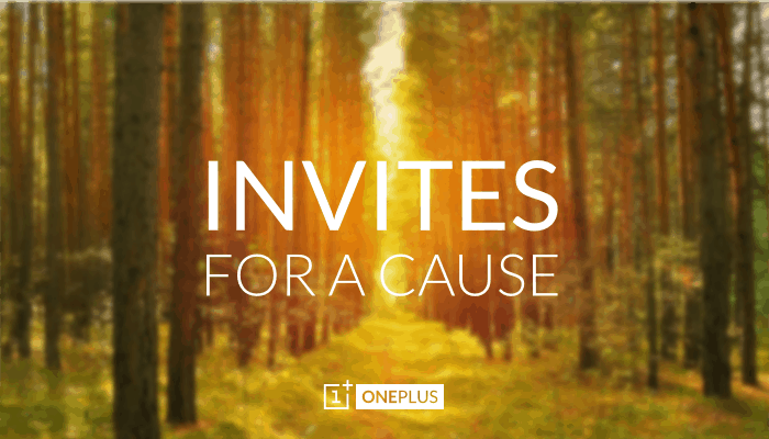 oneplus invites for a cause AH
