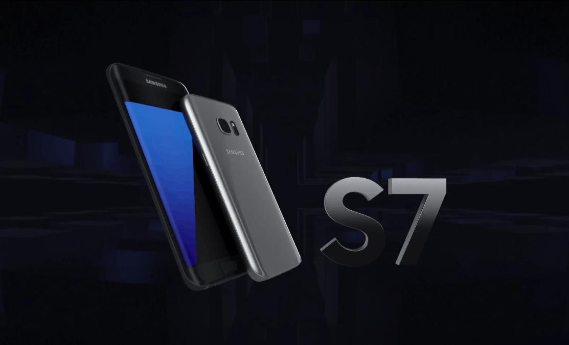 Galaxy S7 Edge screen