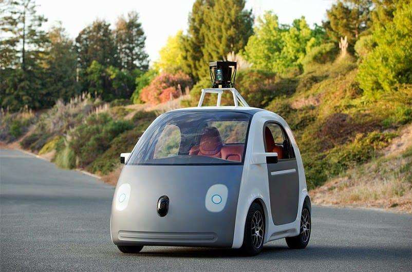 Google self driving car prototype - crop