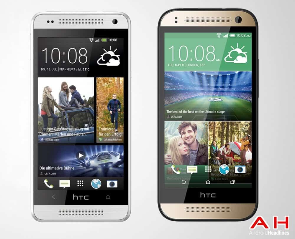 HTC One Mini M8 2014 vs HTC One Mini M7 2013