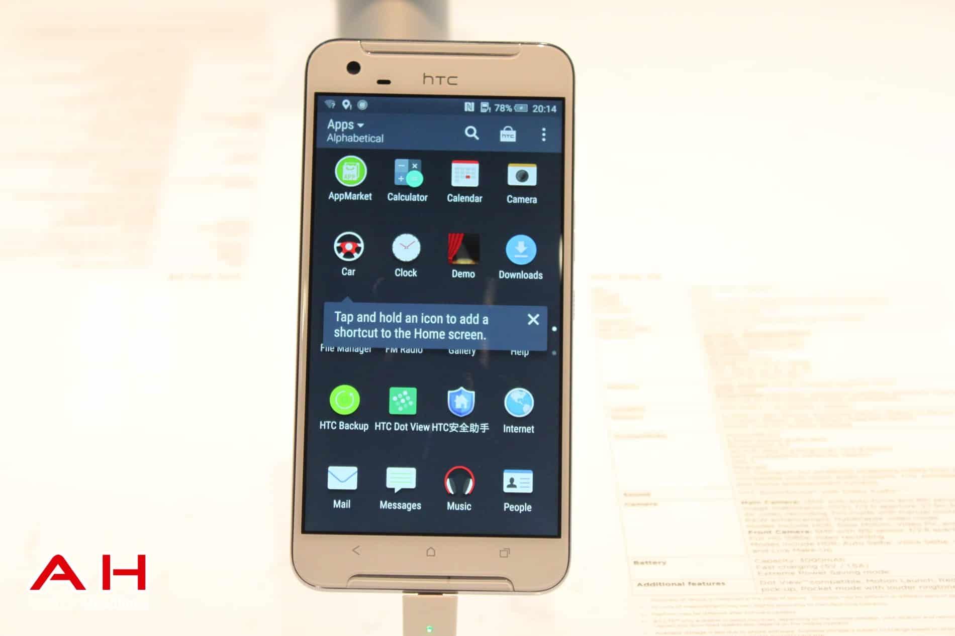 HTC One X9 MWC AH 23