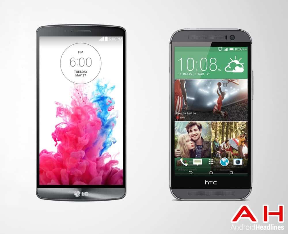 LG G3 Vs HTC One M8 2014