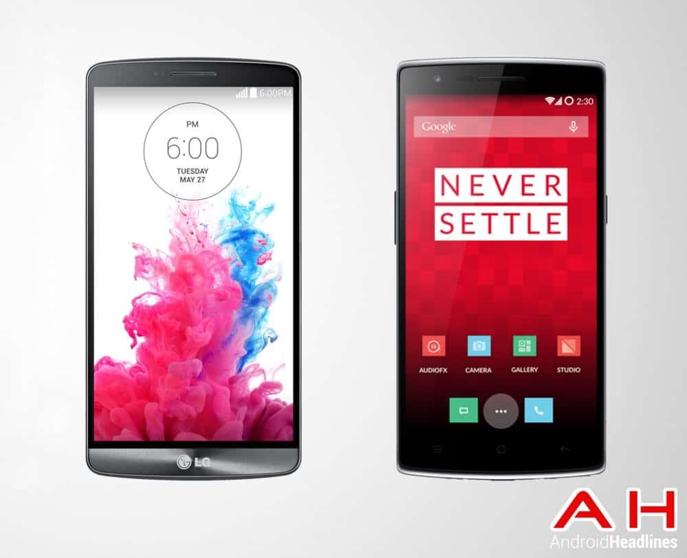 LG G3 Vs One Plus One