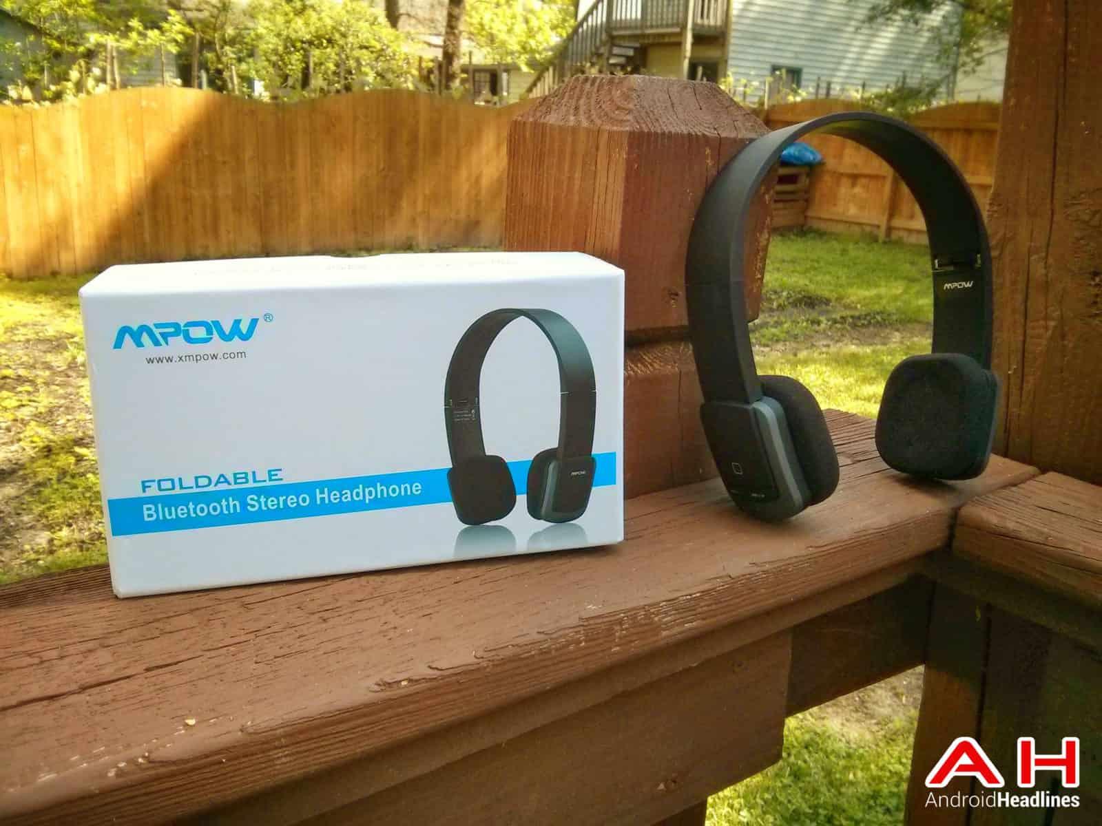 Mpow Bluetooth 4.0 Foldable Headset4