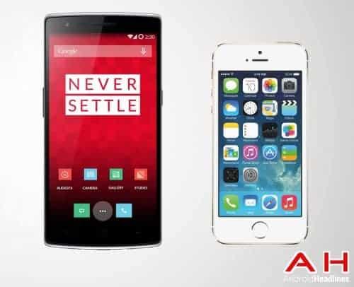 One Plus One Vs Apple iPhone 5S