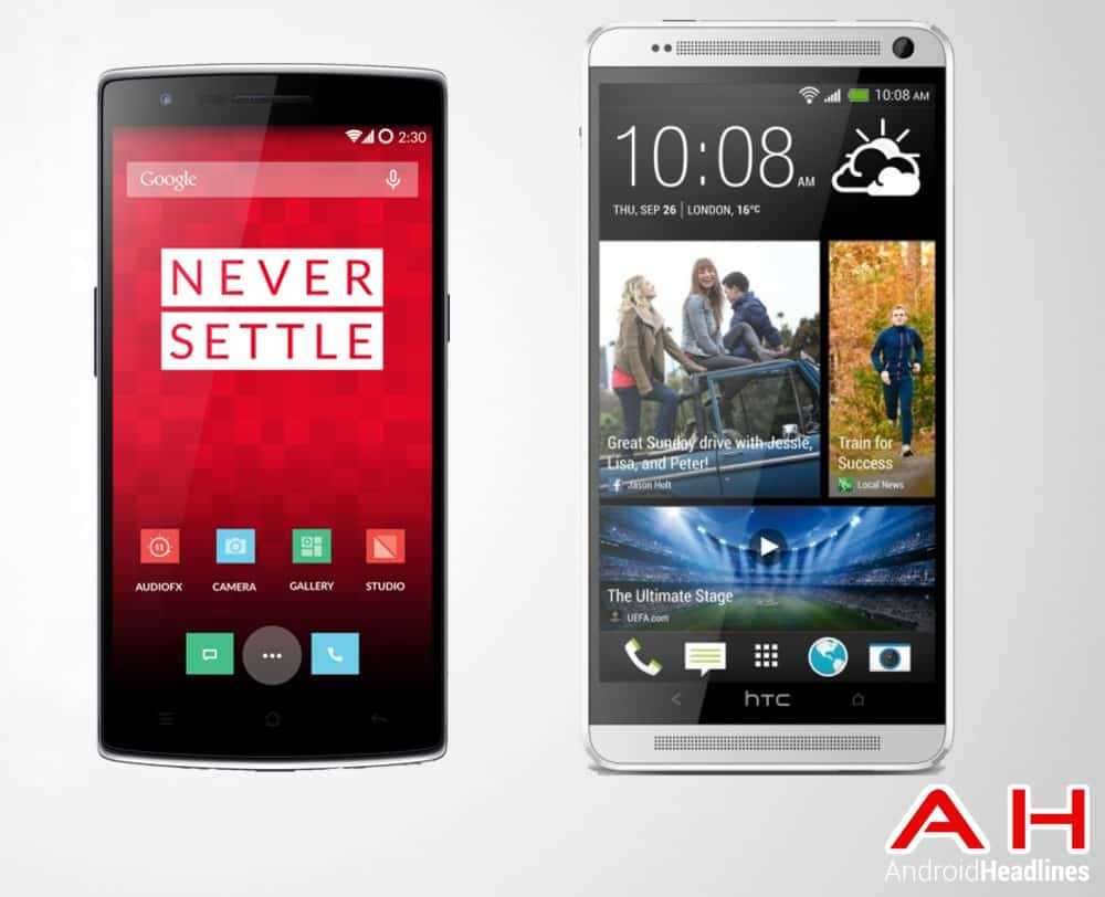 One Plus One Vs HTC One Max