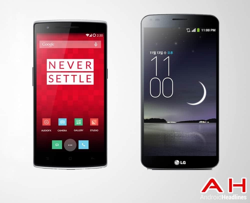 One Plus One Vs LG Flex