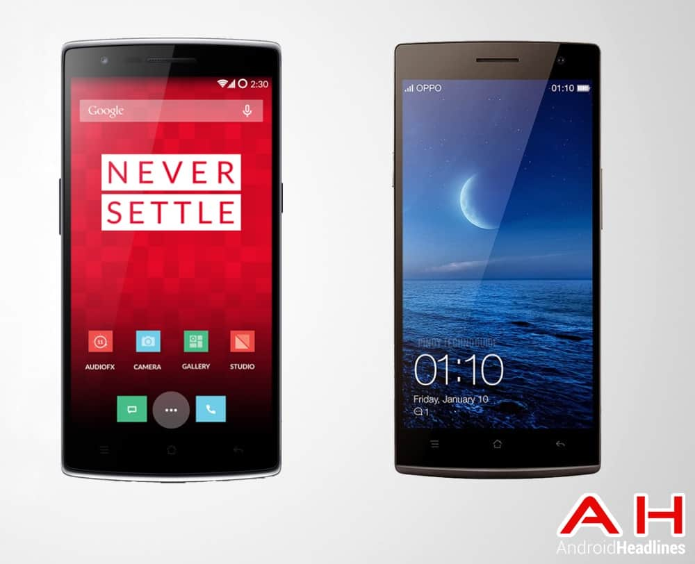 One Plus One Vs Oppo Find 7