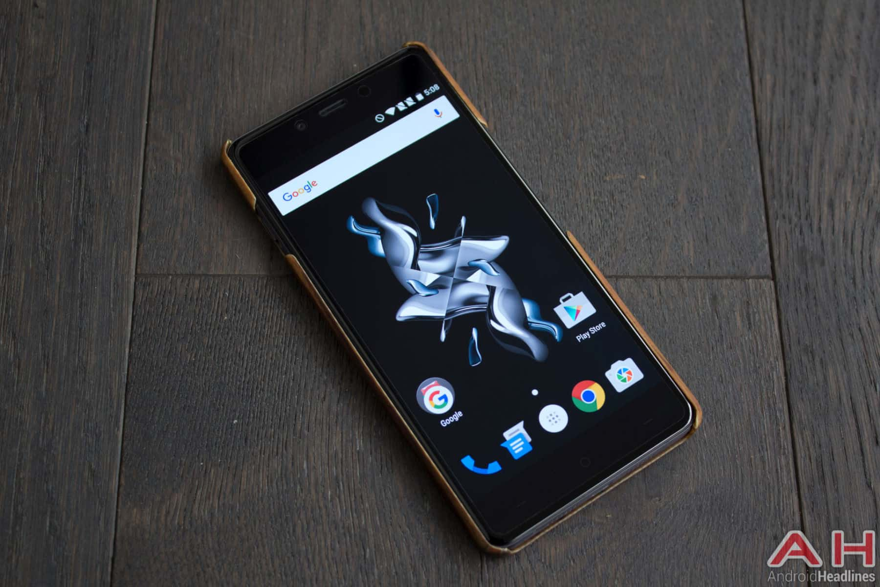 OnePlus X With Case AH 2