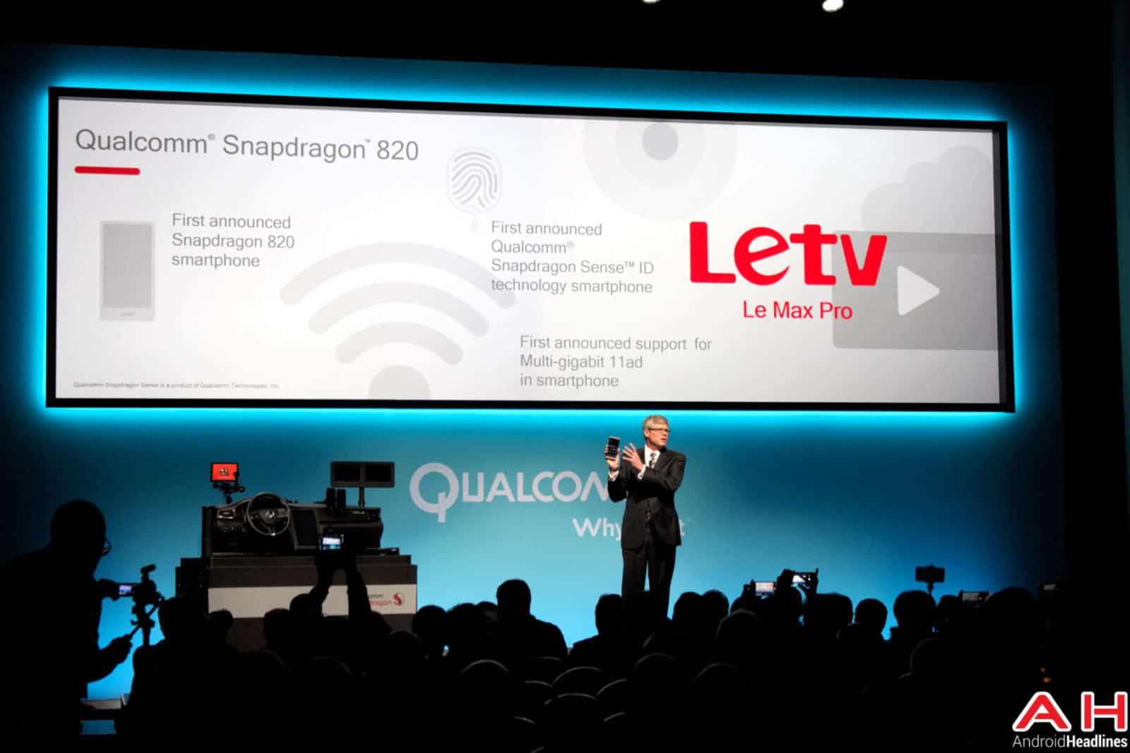 Qualcomm Snapdragon 820 Letv AH-1