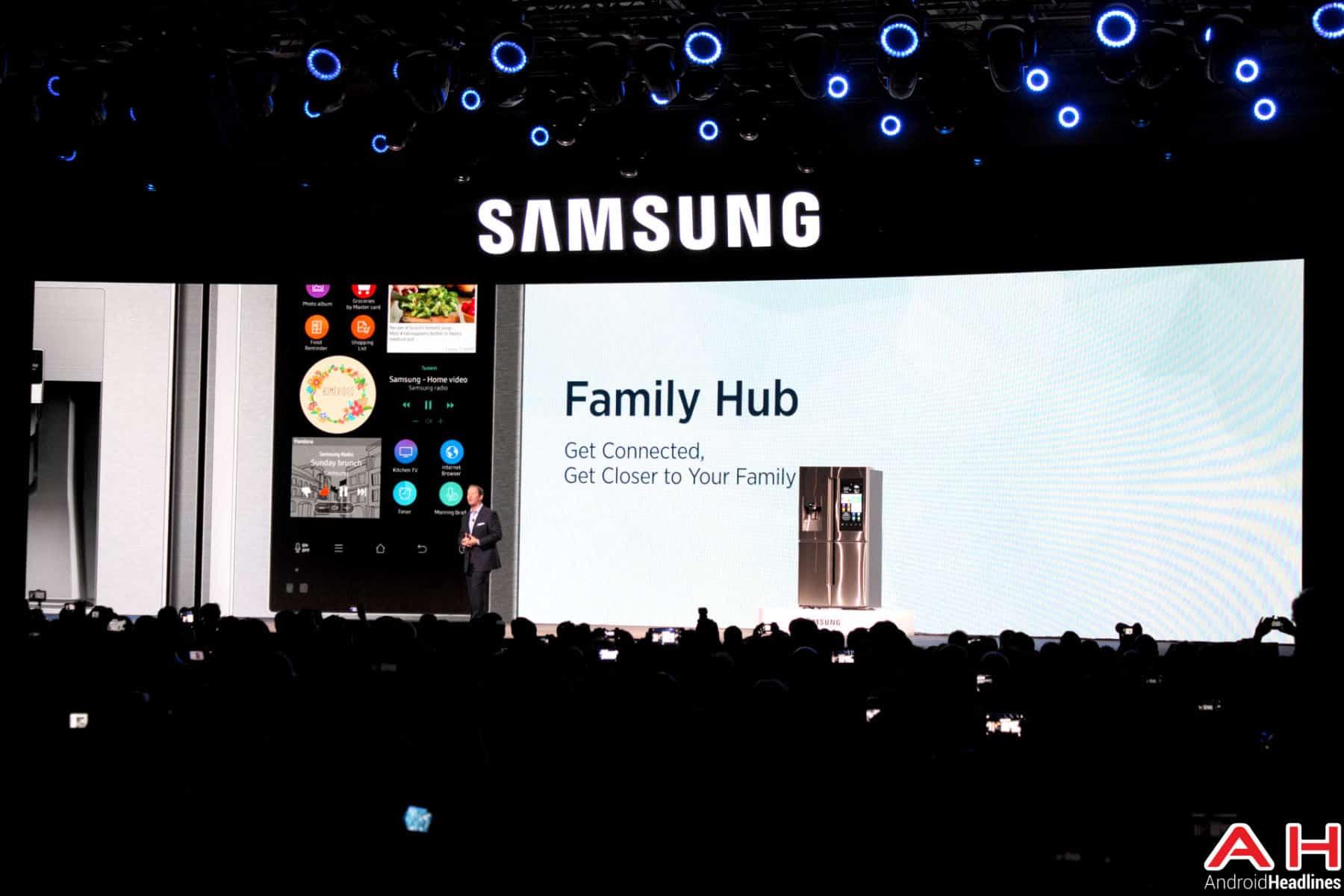 Samsung Family Hub CES AH 2